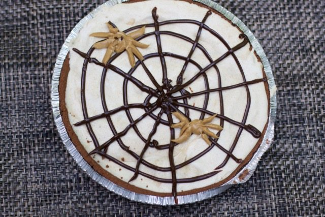 Halloween Dessert: Peanut Butter Ice Cream Pie
