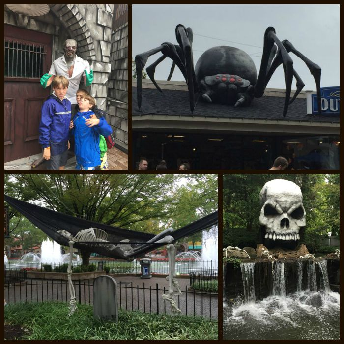 kings dominion haunt - Kings Dominion Christmas