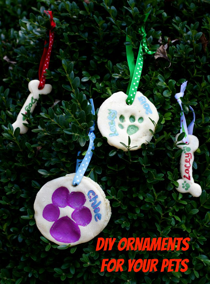 how to make Christmas ornaments out of salt dough