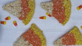 Halloween Food: Halloween Rice Krispie Treats