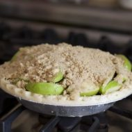 Apple Recipes- Apple Crumble Pie Recipe