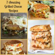Grilled Cheese Recipes and Mason Jar Salad Recipe Round Up