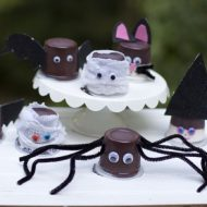 Halloween Party Pudding Cups