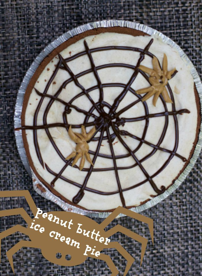 peanut butter ice cream pie 1