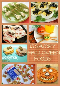 Savory halloween foods for parties