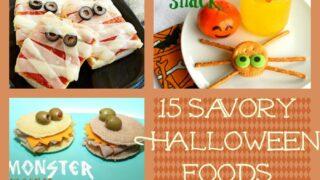 Healthy Halloween Foods for Parties