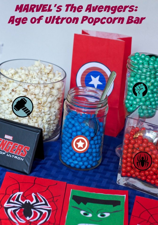 Avengers Popcorn recipes