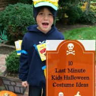 Last Minute DIY Kids Halloween Costumes