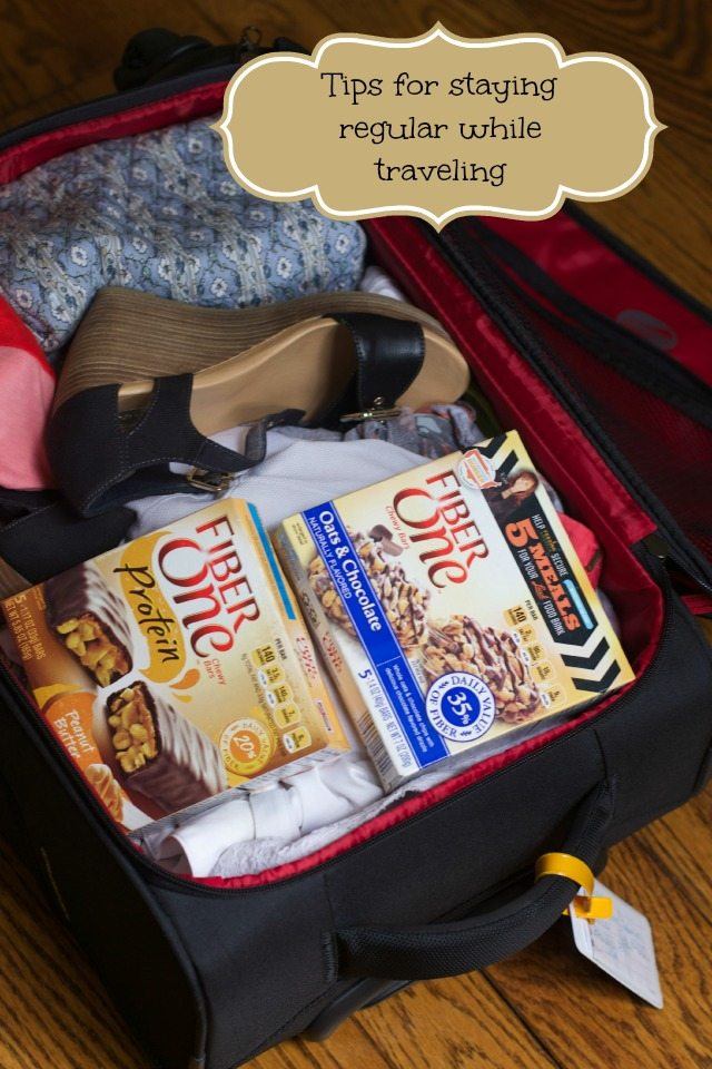 how to stay regular when traveling