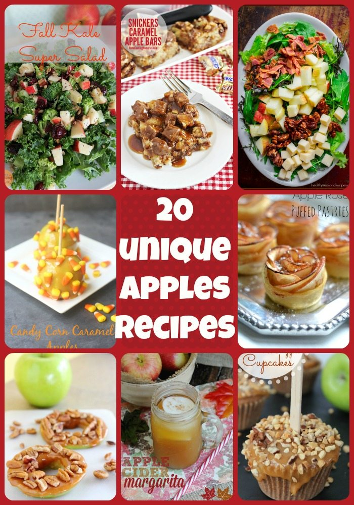 10 Unique Apple Recipes For Fall