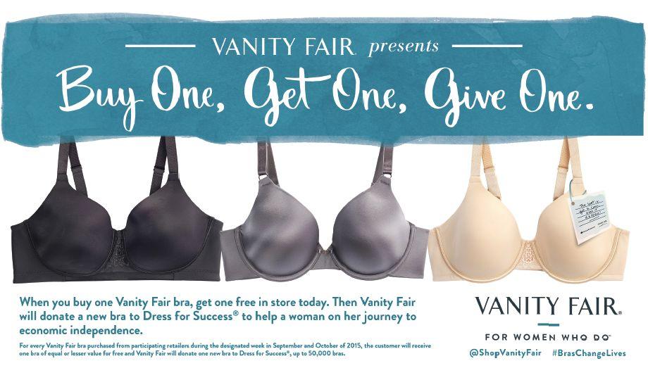 Best Deals on Bras: Vanity Fair BOGOGO EVENTS #BrasChangeLives
