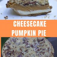 The Best  Cheesecake Pumpkin Pie Recipe