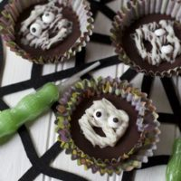 Mummy Peanut Butter Cups