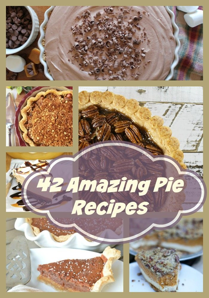 42 Mouth Watering Thanksgiving Pie Recipes