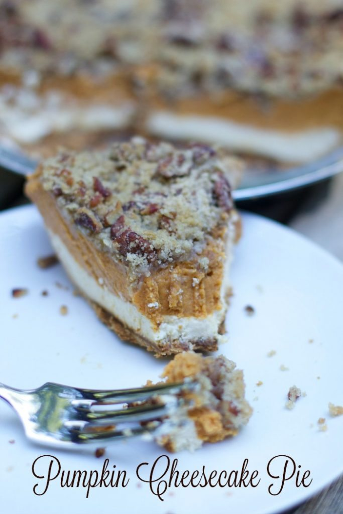 pumpkin cheesecake pie 1