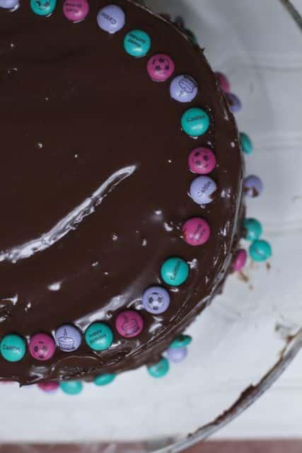 My M&M's birthday