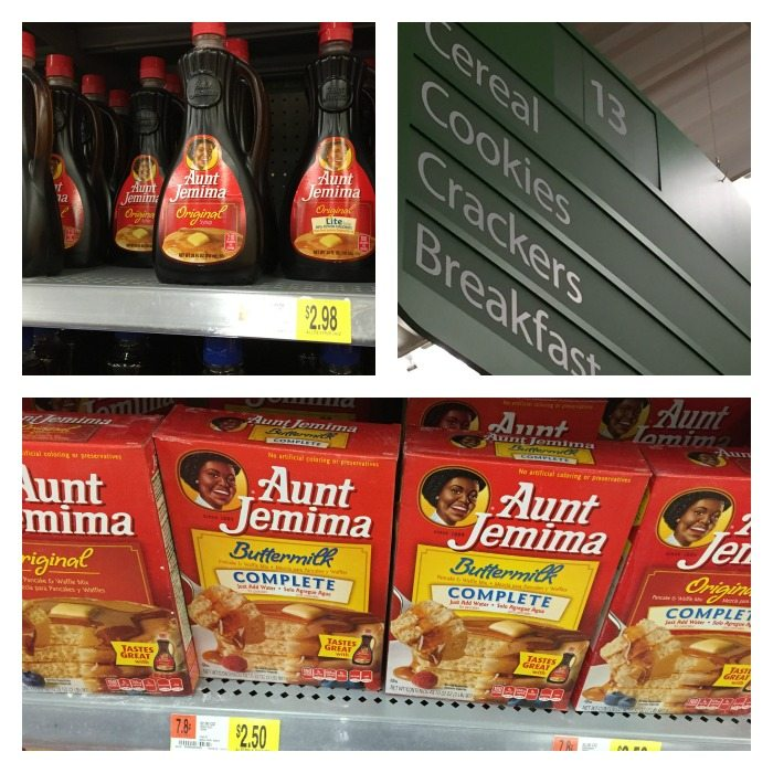 aunt jemima products 2