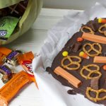 Using Up Leftover Halloween Candy: Chocolate Bark Recipe