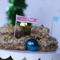 Christmas Oatmeal Carmelitas Recipe