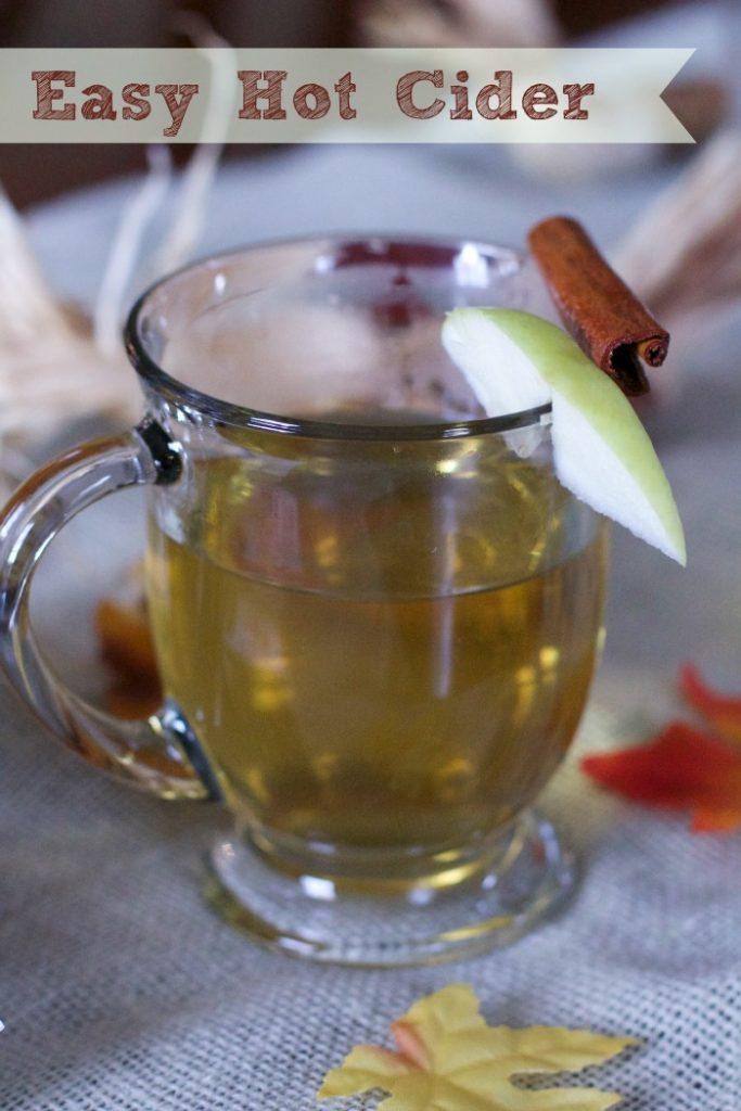 easy Hot cider