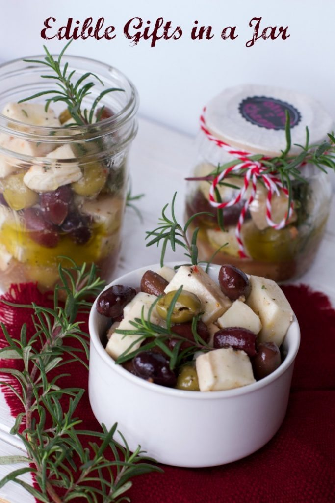 edible gifts in a jar