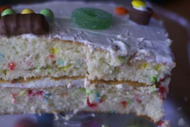 inside out cake inside