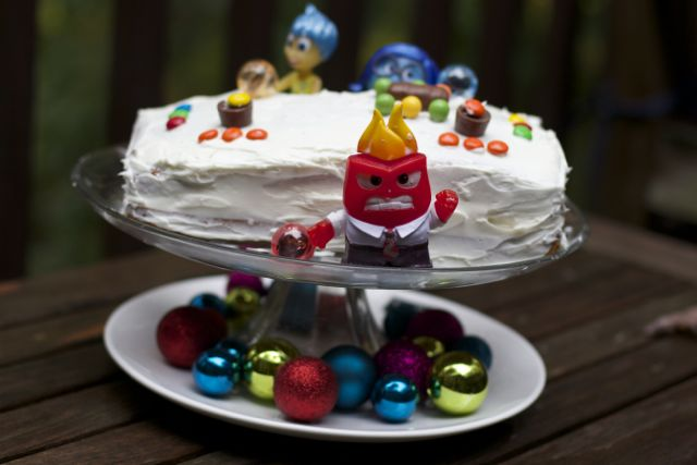 Inside Out DVD and Cake Idea