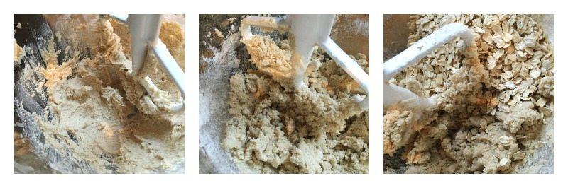 making oatmeal carmelitas
