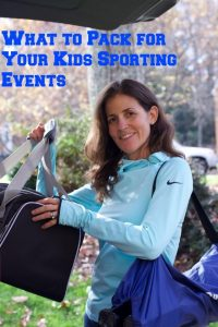 What to pack for youth sports teams events