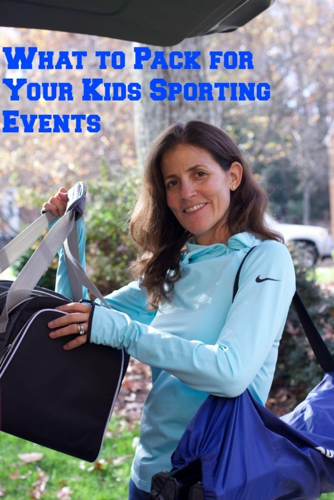 Kids Sports events are easier to manage when you use our simple Tips For What To Pack For Kids Sports Events list! Stay warm, fed, and comfy every time!