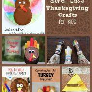15 Super Easy Thanksgiving Crafts for Kids