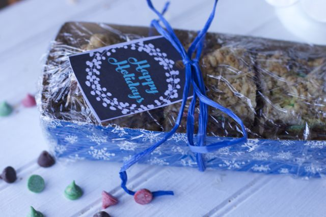 wrapped cookies