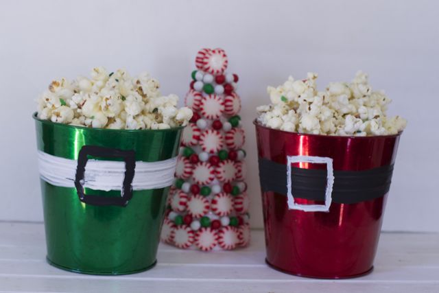 Santa's Popcorn Gift Idea