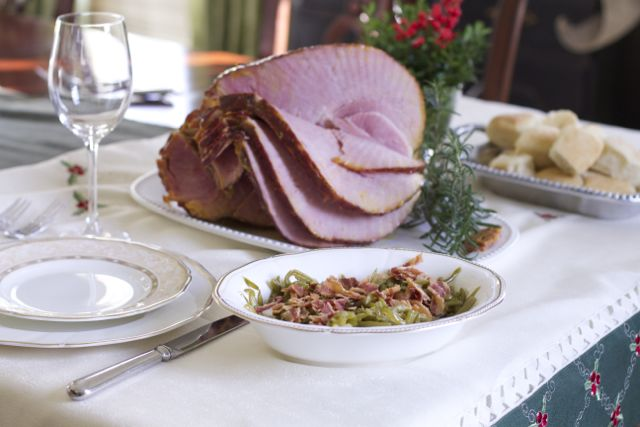 Make a Holiday Ham Dinner in an Hour