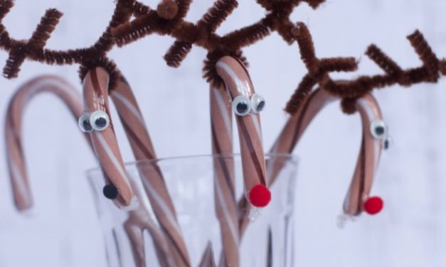 Candy Cane Reindeer & December Crafts