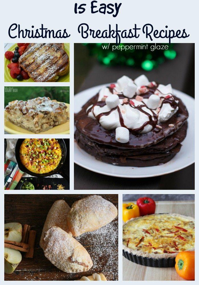 Easy Christmas Breakfast Recipes You Need