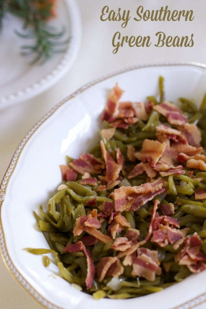 easy southern green beans
