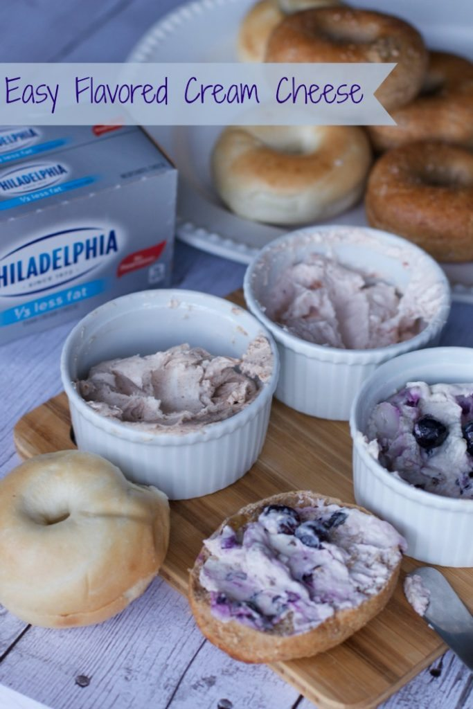 flavored cream cheese recipes 1