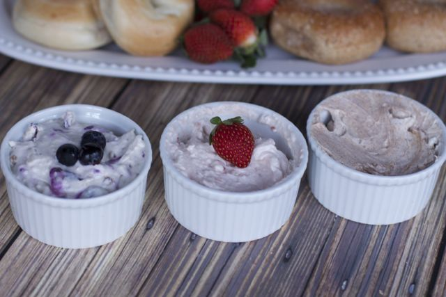 flavored cream cheese recipes