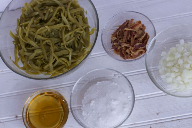 green bean ingredients
