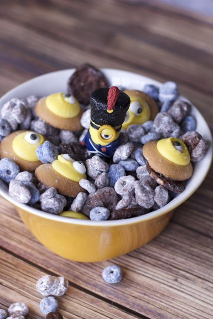 minions snack mix pin