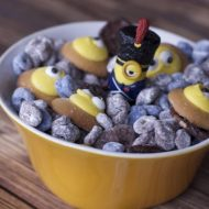 Minions Movie Muddy Buddies Snack Mix Recipe
