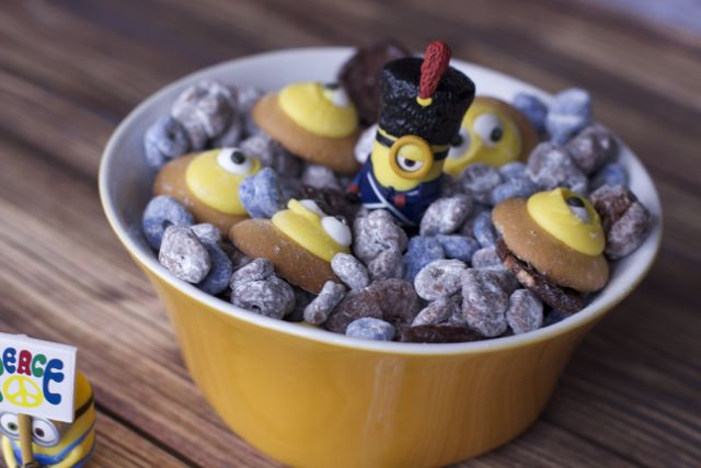 Minions Movie Muddy Buddies Snack Mix Recipe