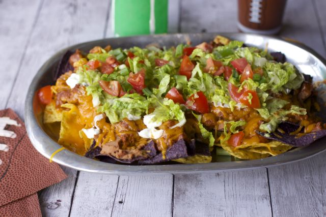 Game Day Snacks : 7 Layer Nachos Recipe