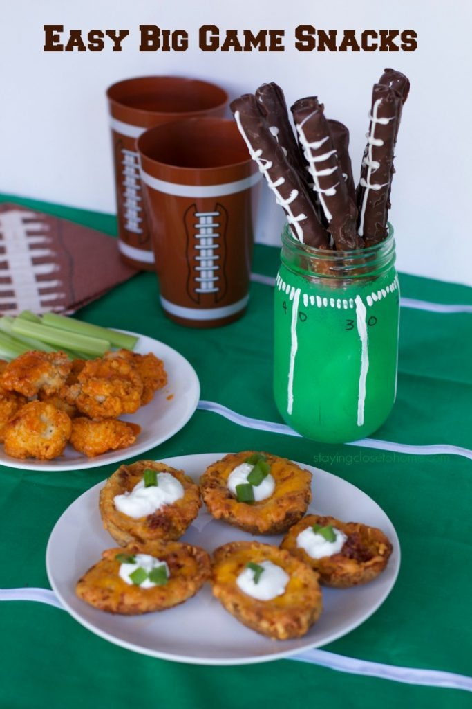 Easy Superbowl Snacks