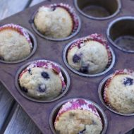 Streusel Blueberry Muffins Recipe