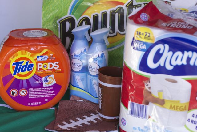 P&G items big game