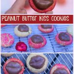 Peanut butter Kiss Cookies for Valentines day