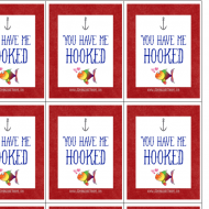 Valentines Day Tackle Box Printables