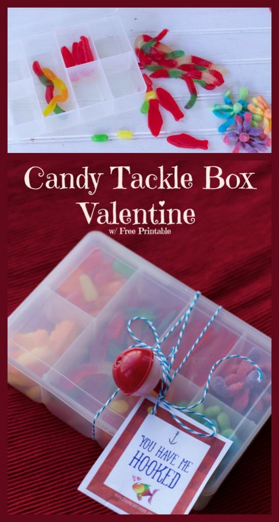 Candy Tackle Box Valentines